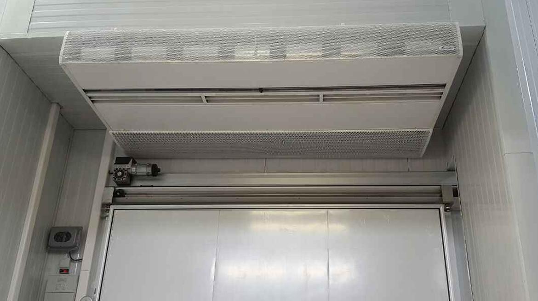 Cold Store Air Curtain Kaviflex