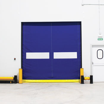 portes rapides à enroulement