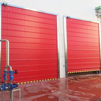 portes rapides industrielles