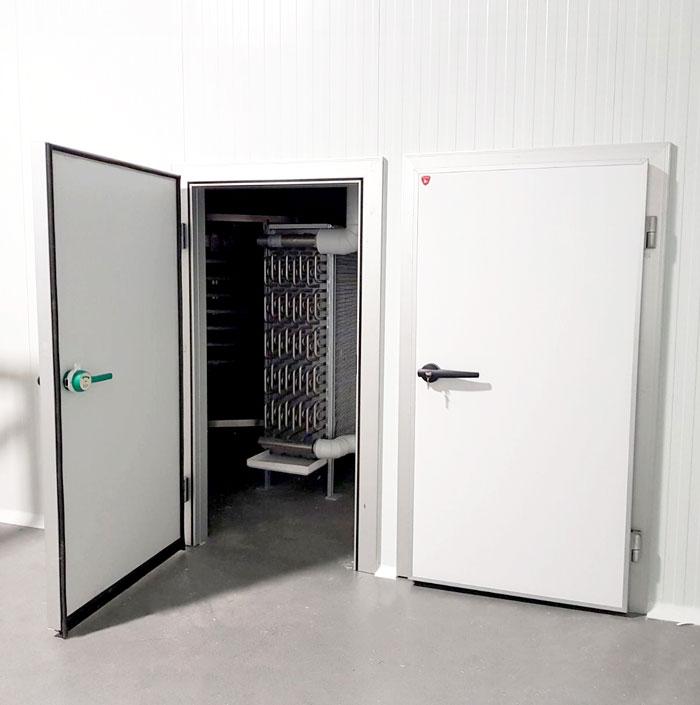 portes pivotantes isothermes