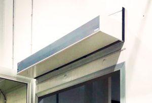 cortina de aire industrial