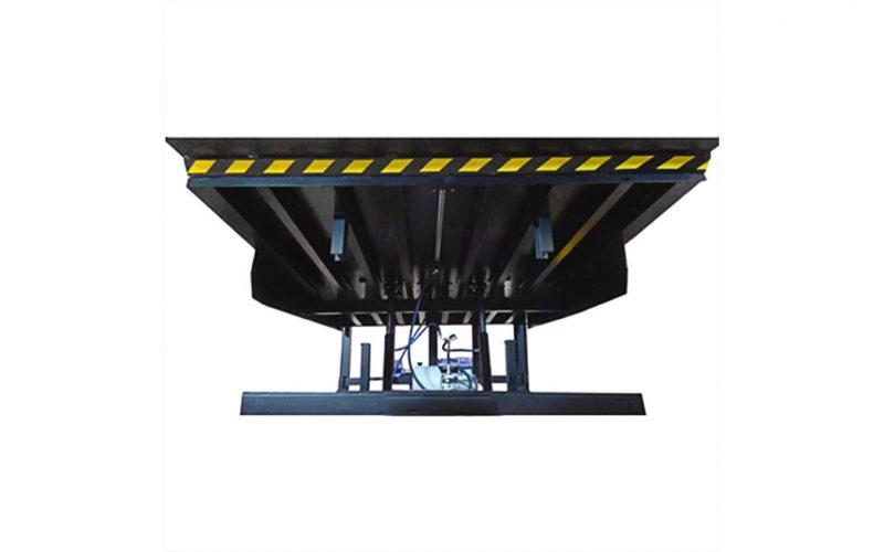 rampa telescópica para muelles de carga