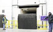 rampa de carga vertical