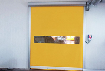 Puerta rápida enrollable frigorífica