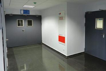 puertas cortafuegos para hospitales y clínicas