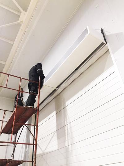 cortinas de aire frigoríficas