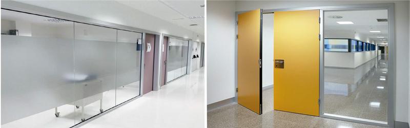 luminosidad zonas de consulta en hospitales