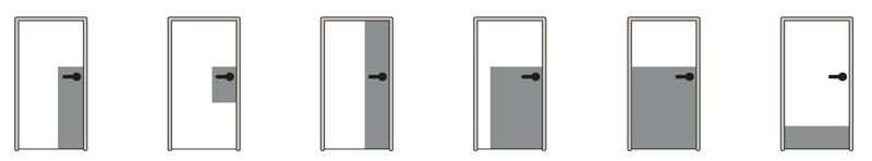 planchas de protección puertas hospitalarias