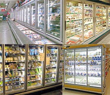 glassdoors for walk in cooler
