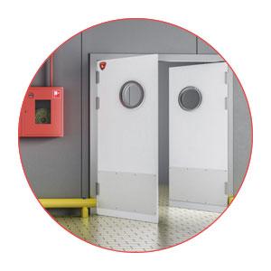 industrial impact doors