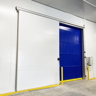 instalación puertas en cámaras de congelación