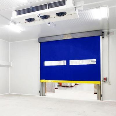 puerta rápida para cámara frigorífica
