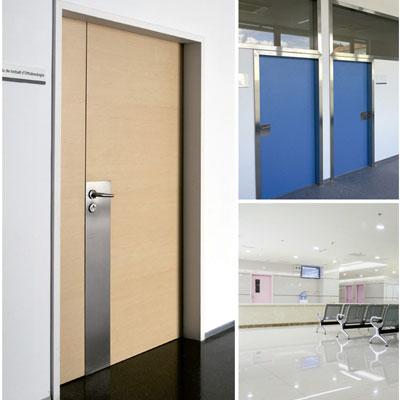 puertas pivotantes hospitales