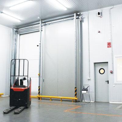 puertas industriales peatonales