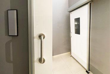 puertas para quirófanos