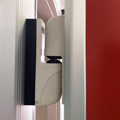 bisagras puerta pivotante frigorífica