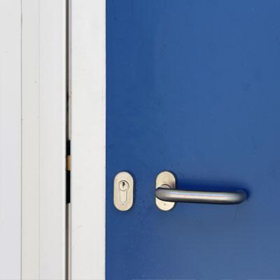 cerradura puertas pivotantes