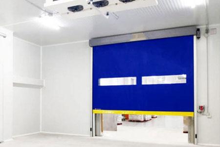 puertas frigoríficas de lona