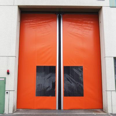 puerta enrollable horizontal