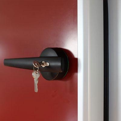maneta puerta pivotante para cámara frigorífica