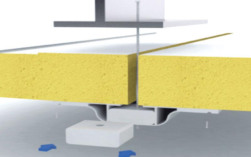 perfil omega soporte techo