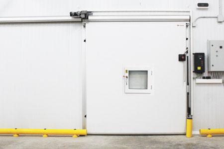 puerta atmósfera controlada