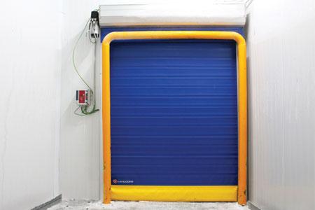 puertas rápidas para cámaras frigoríficas
