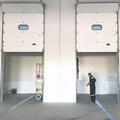 puertas centro logístico