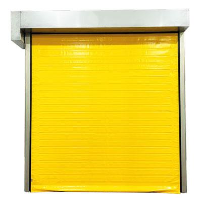 puerta rápida de doble lona frigorífica