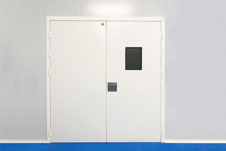 puertas hospitalarias sala blanca