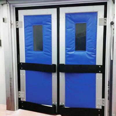 puerta vaivén isotérmica