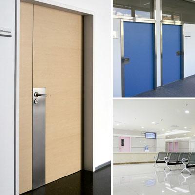 puertas para hospitales
