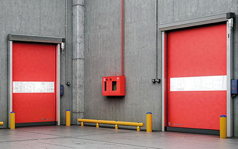 puerta rápida enrollable