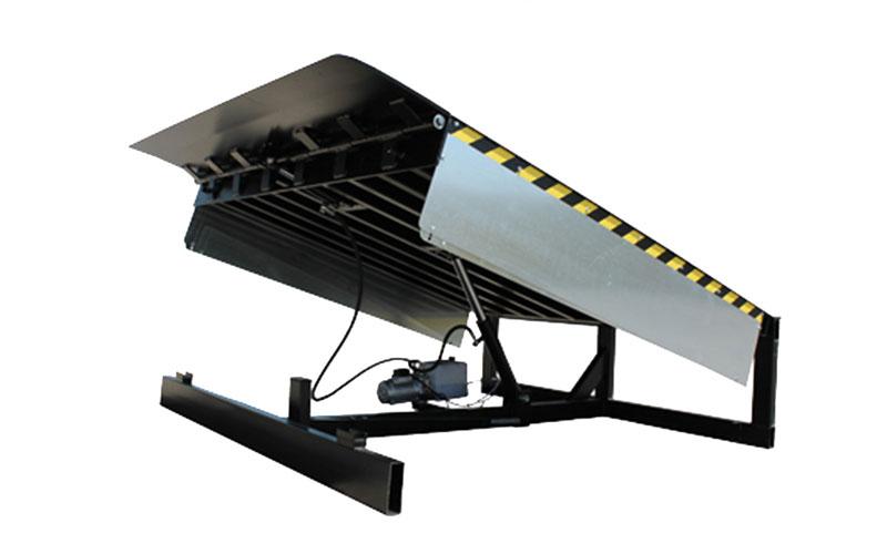 rampa labio abatible para muelle de carga