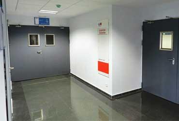 puertas cortafuegos en hospitales