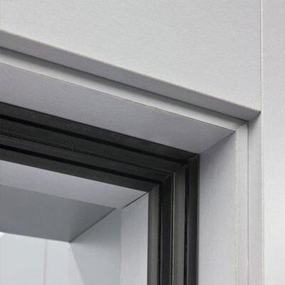 detalle puerta acústica
