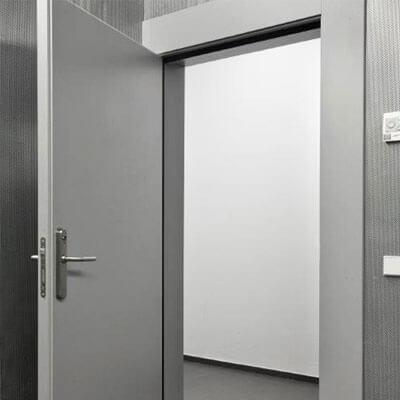 puerta interior aislamiento acústico
