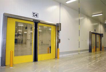 puerta rápida enrollable horizontal