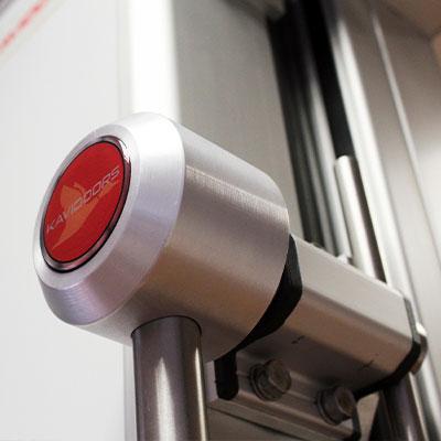 maneta de puerta corredera para cámara frigorífica