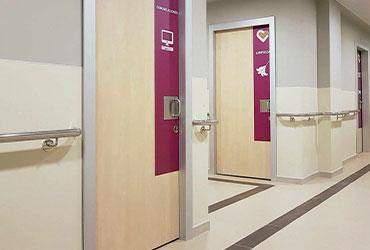 pasamanos de pared para clínicas y residencias