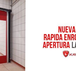 puerta rapida apertura lateral