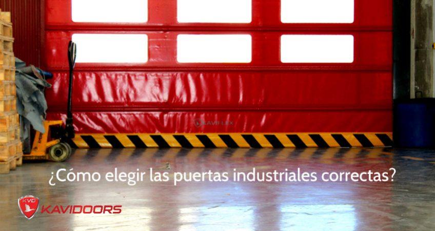 elegir puerta industrial