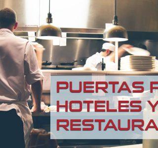 puertas para el sector hostelero -restaurantes-hoteles