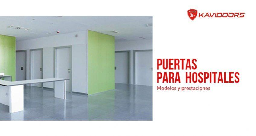 puertas para hospitales Kavidoors