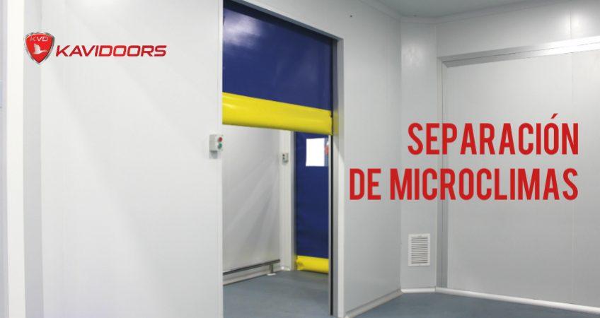 puertas rápidas frigoríficas