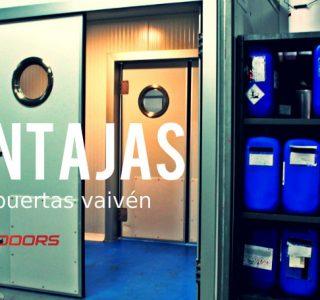 puertas vaivén industriales